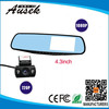 Fashion Design Dual Lens GPS Car video Registrator/car cam