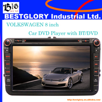 8 inch Car DVD Player with BT/DVD for VW Special car model