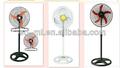 20 pulgadas ventilador industrial/ventilador de pie grande/tres/hoja de cinco