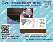 RFID T5577 hotel key card with magnetic stripe