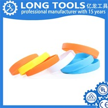 Factory direct selling fashionable cheap silicone bracelet for party action new products silicon bracele silicone wrist band