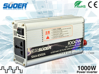 Suoer Manufacture High Frequency 1000w Inverter 12V 220V DC To AC Solar Power Inverter with CE ROHS