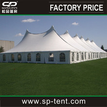Eureka Elite one -piece Tension party canopy marquee tents 60x140 feet with windows side covers