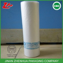 high quality 100% virgin material plastic hdpe flat bags on roll for food