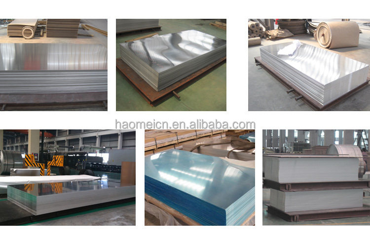 Factory price manufacturer supply aluminium corrugated sheets