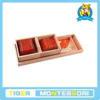 2014 high quality New montessori material ,educational toys for kids-Introduction to Decimal Symbols with Trays