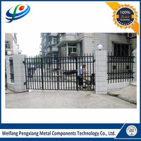 Best quality widely used aluminum or steel gate design for home
