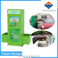 Water save self service car wash equipment / coin operated car wash machine with vacuum WCW-A10