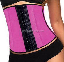 women waist trimming corsets with 100% natrual rubber material and memory alloy steel boned