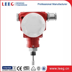 high reliability 420 ma pt100 k type smart temperature transmitter with led display