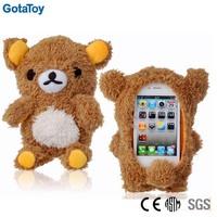 Custom plush toy case for iphone