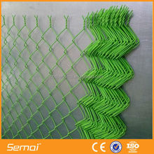Hot Dipped Galvanized Chain Link Fence/ PVC Coated Plastic Fence