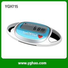 YGH715 Favorable Factory Body Fat Pedometer With Memory and Activity Timer