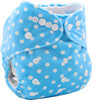Ohbabyka baby cloth diaper reusable waterproof thx diaper aio