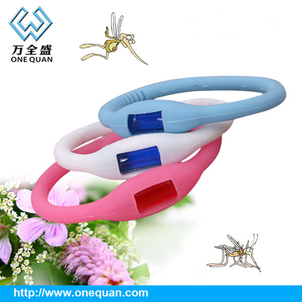 65*45mm negative ion silicone mosquito repellent bracelet 2015 silicone anti mosquito repellent bracelets