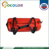 2015 Durable 60L PVC Tarpaulin 5l-40l Pvc Mesh Dry Bag For Outdoor Sports wih Hand Strap