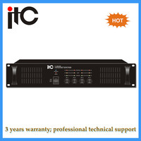 3U type multi channel power amplifier with Isolated Transformer for Safe Operation