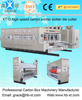 full automatic flexo Corrugated carton box printer slotter die cutter with stacker machine