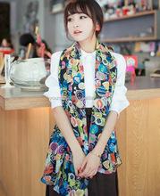 WJ1510 Scarves wholesale cartoon fashion multi-element lovely smiling scarf
