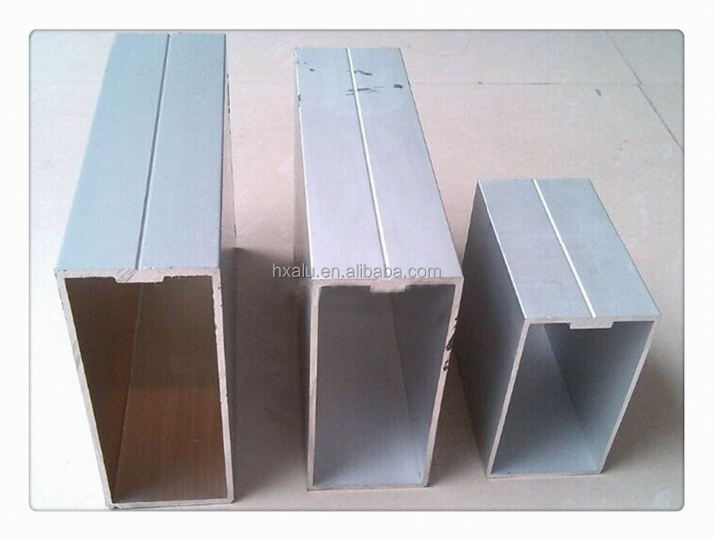 Anodized Aluminum Curtain Wall : Anodized matt silver aluminum curtain wall extrusion