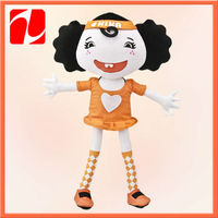 Stuffed funny inflatable girl doll toys