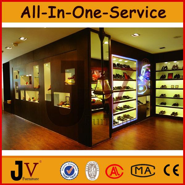 magasin de chaussures conception meubles avec chaussure vitrine pr sentoire id de produit. Black Bedroom Furniture Sets. Home Design Ideas