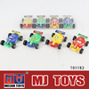 2015 NEW design palstic pull back car mini toys car wheels Manufacturer