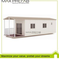 Modern temporary living container prefabricated house in uae