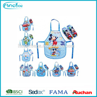 Cheap kindergarten kids apron for painting