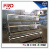 Hot Dip Galvanized Chicken Layer Battery Cage For Farms