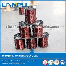 super market in oversea round aluminium magnet wire