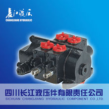 Machinery multiple manual operated directional control valve