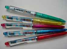 CH-6113 Liquid pen/Liquid floating pen /floating pen for promotion product