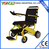YONGLI folding electric wheelchair with small folding size health care products electric wheelchair electric wheelchair with 250
