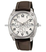 Japan Quartz 2115 stainless steel watch