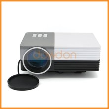 Micro Projector Portable Mini Multimedia Projector 150 Lumens 480*320 Native Support HD1080P