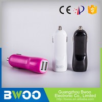 Custom Color Rohs Certified Dual Usb Car Charger Flute Shape Flash Drive