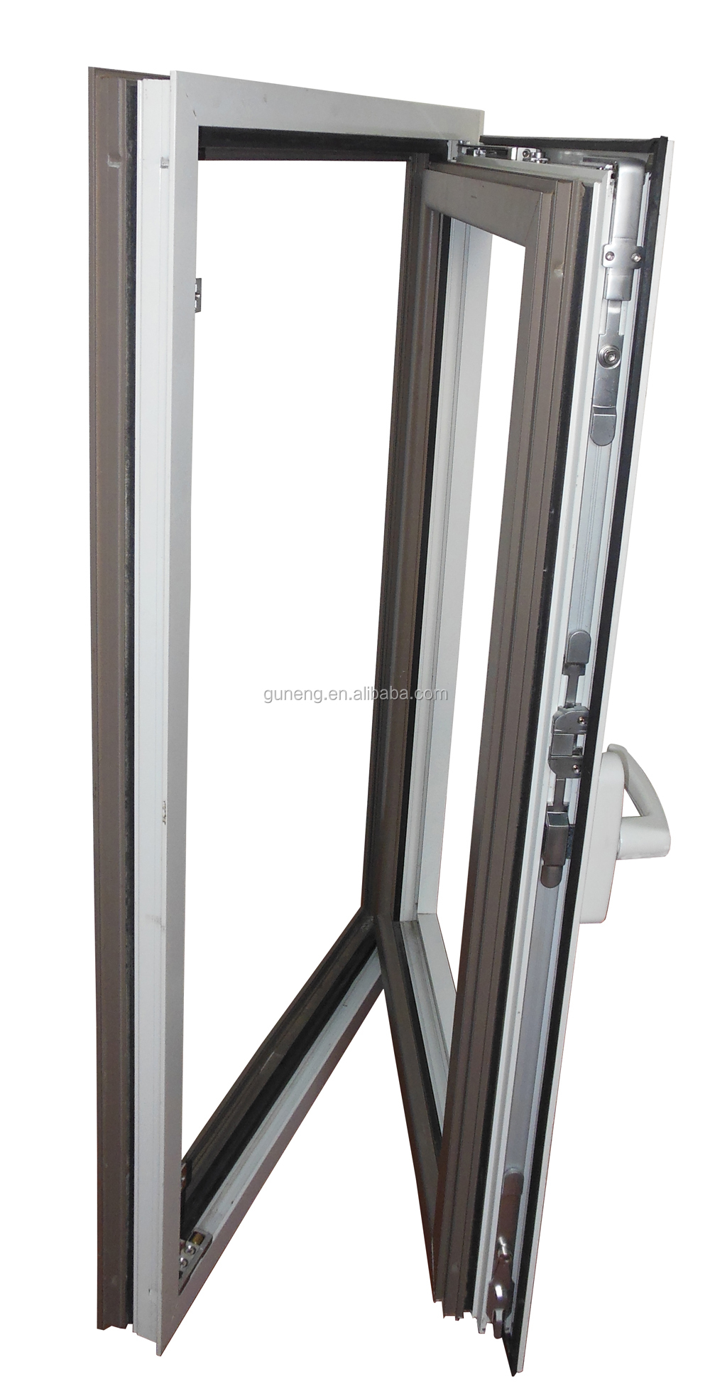Tilt Window Hardware At First : Aluminum window tilt and turn hinges