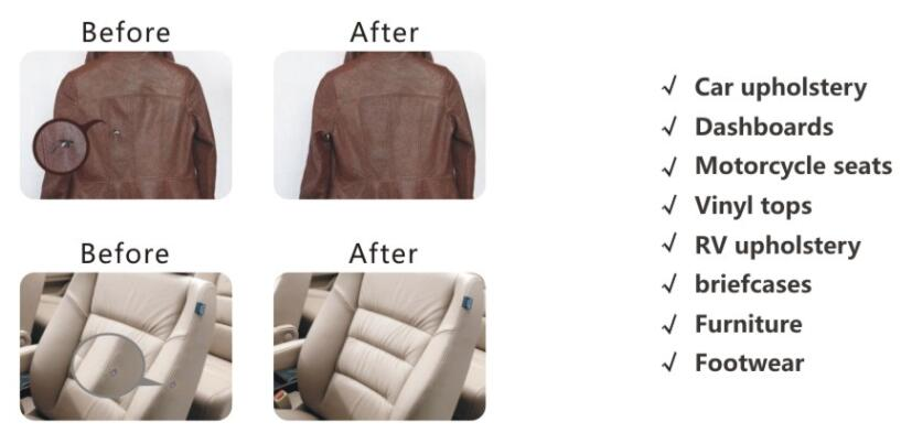 leather vinyl repair kit fix rips burns holes car boat seat leather furniture ebay. Black Bedroom Furniture Sets. Home Design Ideas