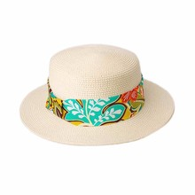 Women's Ladies Beauty Bohemia cap Summer Beach Sun Straw Hat