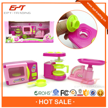 Kids hot selling plastic mini toy doll house furniture for sale