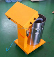 Electrostatic powder coating and coating spray gun type manual coatings machine for clean and economical