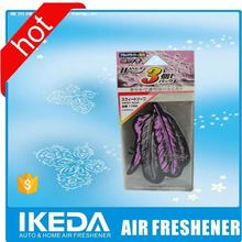 New design discount price essential oil paper air freshene