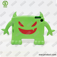 green demon stand childproof cover case for tablet pc