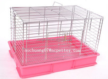 low carbon steel wire and Plastic Rabbit cage