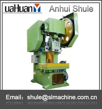 JB21 100ton manual hand mechanical press