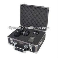 travel hard aluminum camera carrying case/aluminum camera lens case