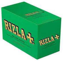 RIZLA GREEN ROLLING PAPER REGULAR SIZE