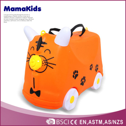 plastic cute kids mini suitcases children rolling case hard plastic cases cartoon luggage for happy childhood