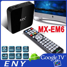 Amlogic8726-MX Dual Core TV Box XBMC Netflix Android 4.2 HDMI Ethernet EM6 Google TV